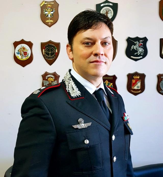 Cambio al vertice dei Carabinieri di Giulianova
