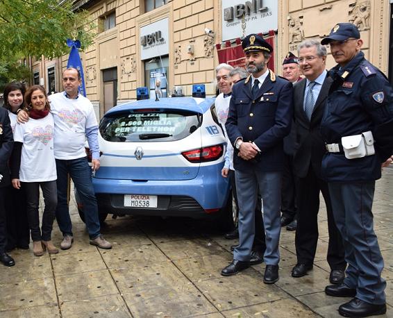 Pescara, la Polizia di Stato per Telethon