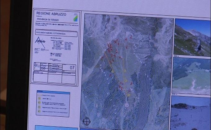 Prati di Tivo, 2 mln per prevenire le valanghe