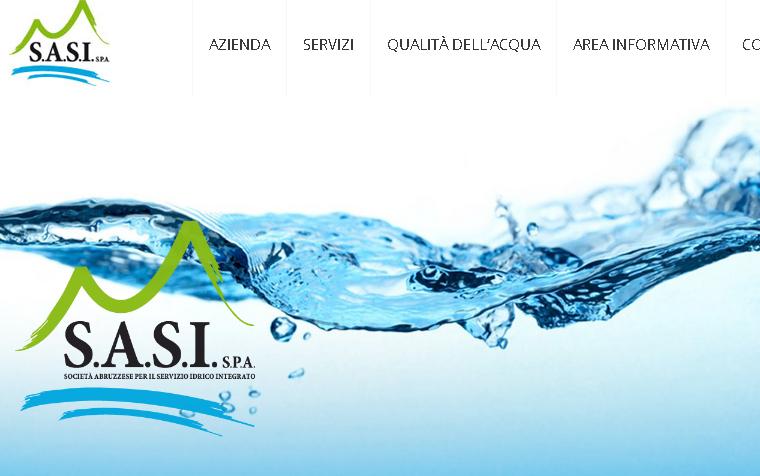 Acqua provincia di Chieti, bilancio e progetti della Sasi