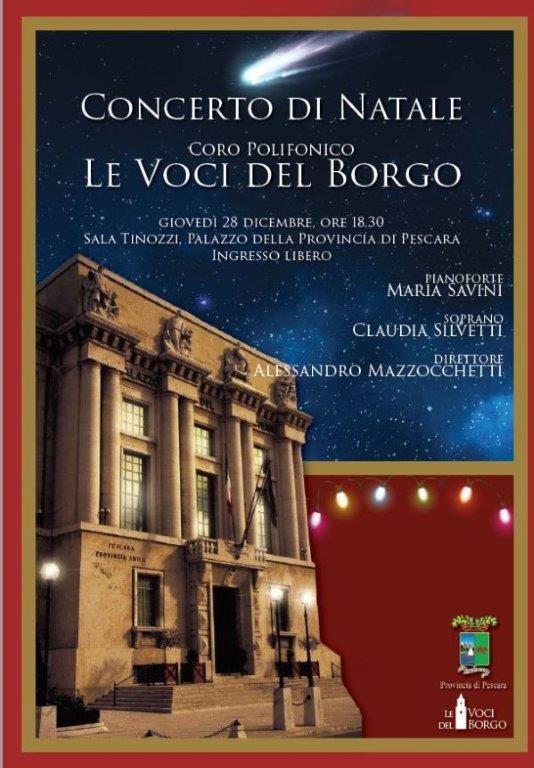"Pescara: concerto del coro polifonico ""Le Voci del Borgo"""