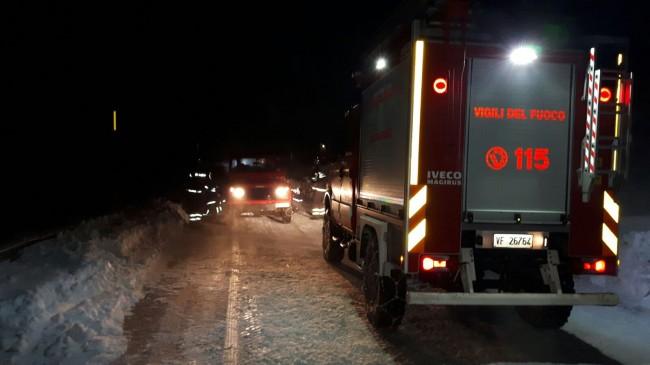 Maielletta: soccorse due auto bloccate dalla bufera