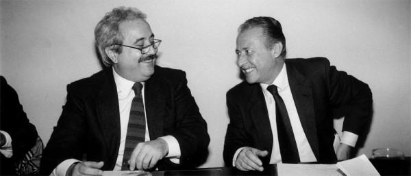 Vasto: targa in ricordo di Falcone e Borsellino