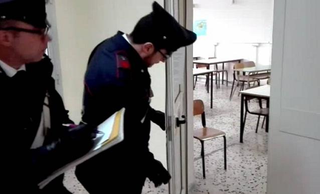 Teramo, condannati due Giuliesi per il furto a scuola