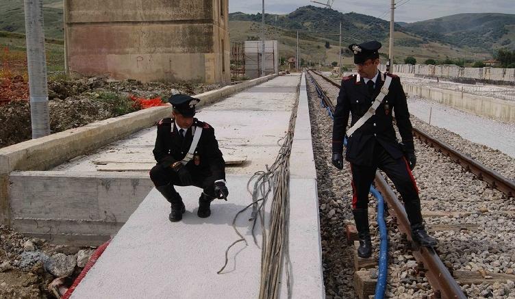 Furti di rame, romeno arrestato dai Carabinieri a Pescara