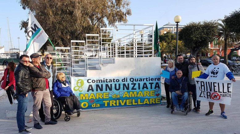 Flash-mob per dire no alle trivelle in Adriatico