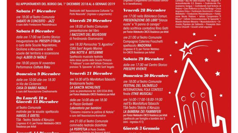Eventi Di Natale.Gli Eventi Natalizi A Citta Sant Angelo Rete8