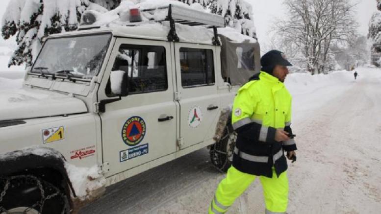 Neve e gelo sulla Campania. Allerta meteo della Protezione civile regionale