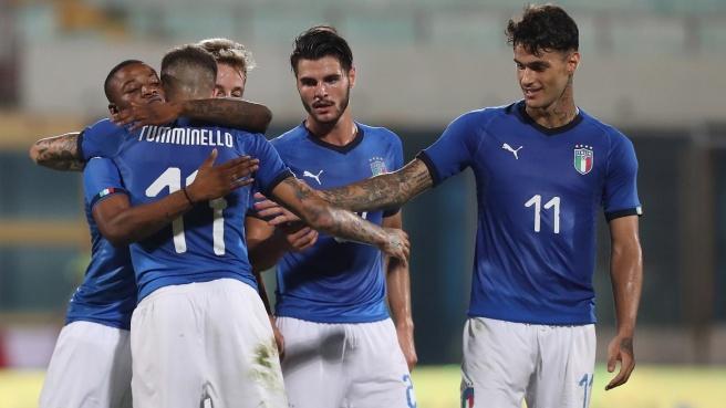 Under 21, Italia-Moldavia 4-0, in campo Zaniolo per i primi 45 minuti