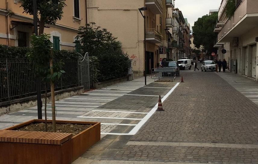 Pescara, dopo i lavori più sicura Via Trieste - Rete8