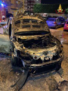 auto incendiata rancitelli