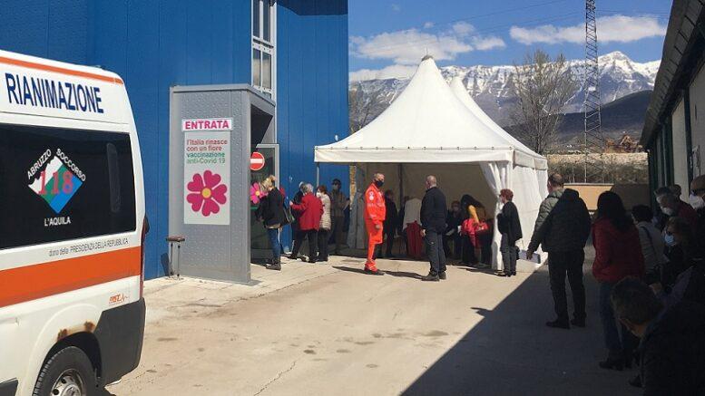 Covid L Aquila Inaugurato Il Centro Di Vaccinazione A Bazzano Rete8